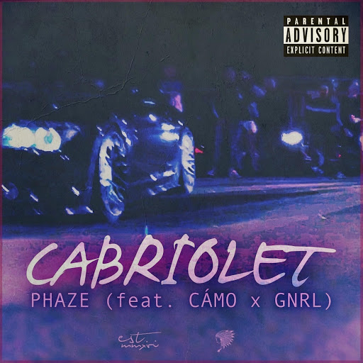 Phaze альбом Cabriolet (feat. Cámo & GNRL)