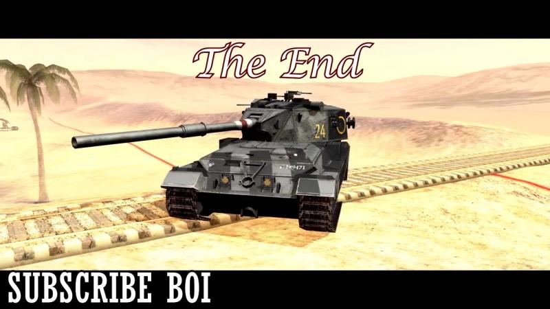 The HESH Criminal - FV215b 183 [WoT Blitz]