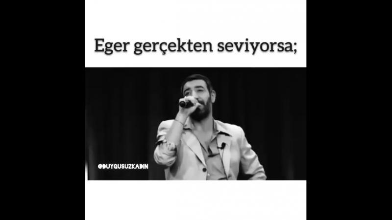 Eger gerçekten seviyorsa💔
