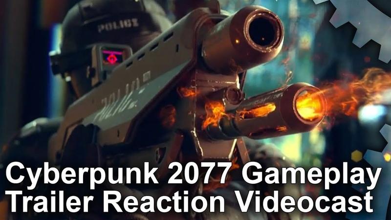 DF Videocast: Cyberpunk 2077 Gameplay Trailer Tech Discussion!