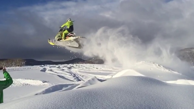 Sakhalin Snowmobiling. BRP Polaris. The best and funny of 2016-2017.