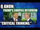 Q ANON Trumps HUGE Interview NEW IG REPORT FINDINGS!