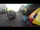 Красноярец на квадроцикле убегает от полиции