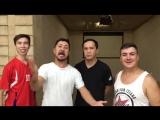 Видеоприглашение команды КВН «Азия Микс» на матч «Кайрат» - «Сигма»