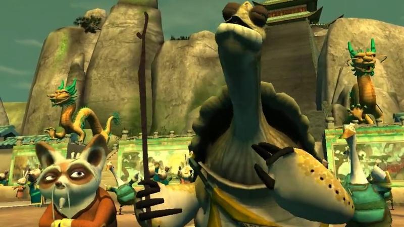 Kung Fu Panda The game прохождение часть 2-Турнир воина-дракона