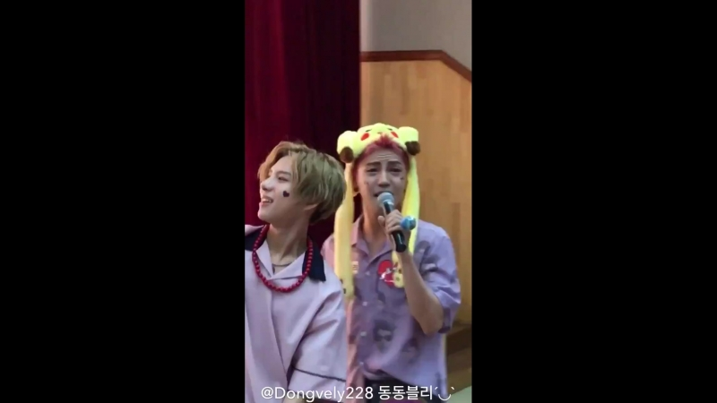 FANCAM | 17.06.18 | Donghun, Wow @ 4th fansign Incheon Media Center