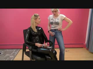Christina qccp & mary - chastity chat to get you hard