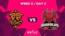 Diabolus vs. Fnatic Rising   UK League Championship   Week 5 Day 2   Spring Split 2019