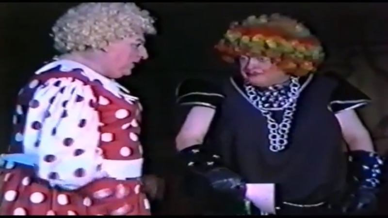 Ugly Sisters with Jack Douglas and Cinders 1993