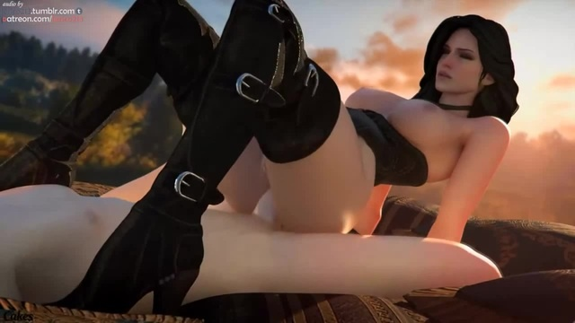 Yennefer anal sex by Cakeofcakes sfm nsfw 18