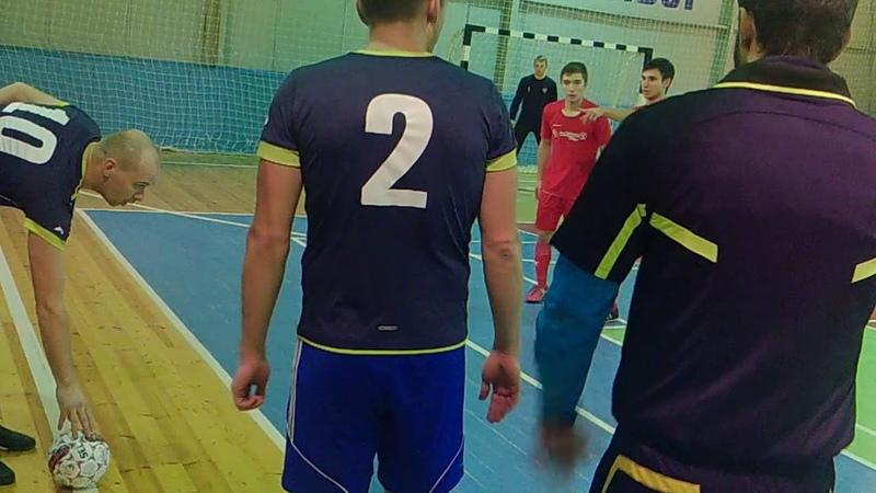 ФК СТМ - ФК Тайфун - 1 тайм