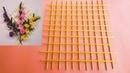 How to make Chopstick Lath to organize flower 😍💖💓🌺🌸
