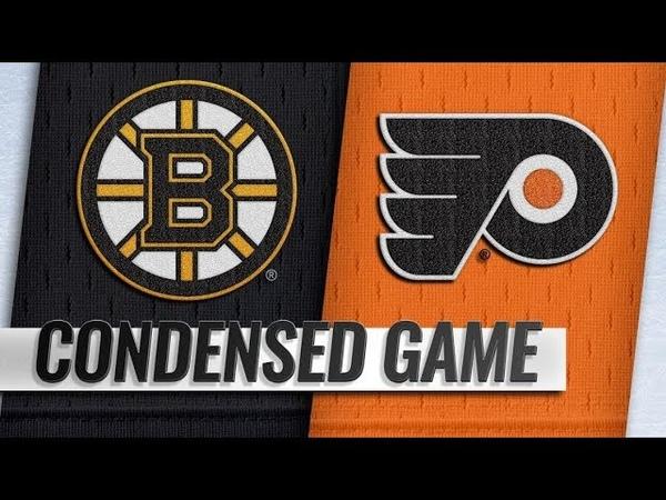 Boston Bruins vs Philadelphia Flyers Jan 16 2019 Game Highlights NHL 2018 19 Обзор матча