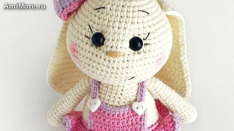 Амигуруми: схема Заюша. Игрушки вязаные крючком - Free crochet patterns.