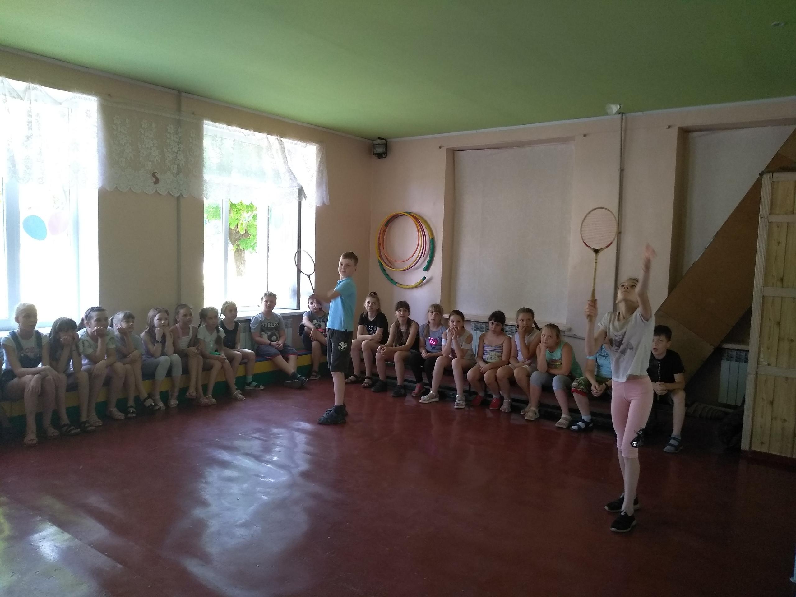Олимпиада в лагере