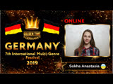 GTG-4114-0113 - Соха АнастасияSokha Anastasia - Golden Time Online Germany 2019