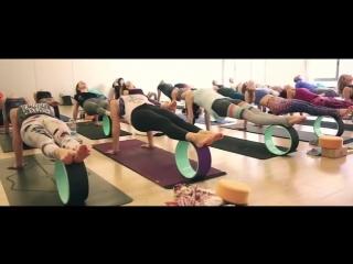 Dharma Yoga Wheel/ Йога с Колесом Лена Прудникова