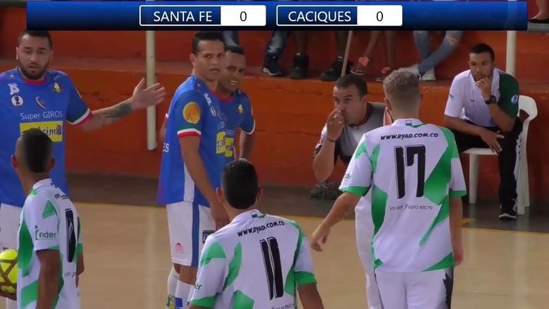 Copa Profesional de Futbol de Salón Santafe de Antioquia 4 Vs Caciques del Quindio 5
