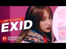 EXID 이엑스아이디 Members Profile Birth Names, Birth Dates, Positions etc.. Get To Know K-Pop