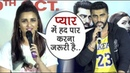 Promotion Ke Dauran Relationship Par Bole Arjun Kapoor Parineeti Chopra