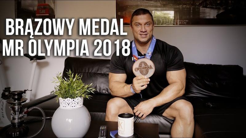 BIG MAJK - 3 MIEJSCE NA MR OLYMPIA 2018 IFBB - RELACJA