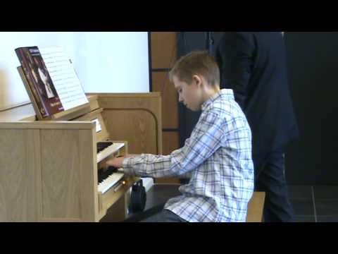 Gert geeft concert tijdens openingsdagen van Content Classical Organs!