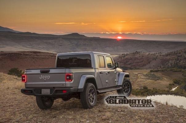 Раскрыта внешность нового пикапа Jeep. В Сети появились первые официальные фотографии пикапа Jeep Gladiator. Новинка, построенная на базе Wrangler, предложит лучшую в классе грузоподъемность и