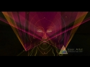 Лазерное шоу Дубна православная