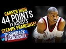 Steve Francis Full Highlights 2003.01.17 vs Lakers - Career High 44 Pts, 11 Assists, CLUTCH!