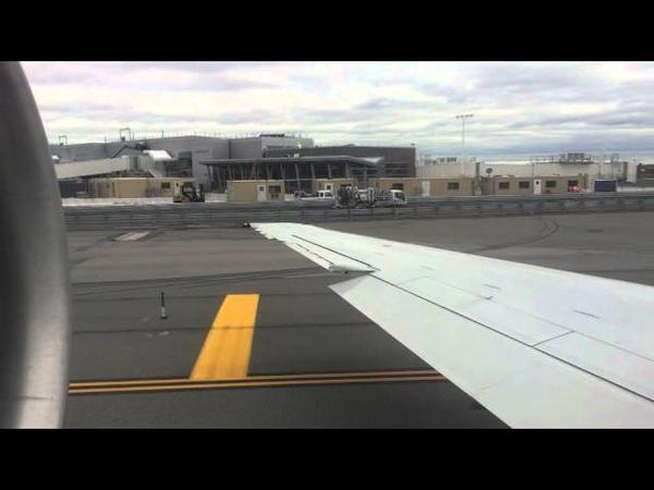 Delta 717-200 Powerful Overcast Takeoff from New York`s KJFK
