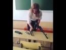 Грамотная подготовленная девушка