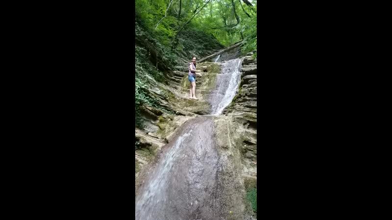 водопад Жаба