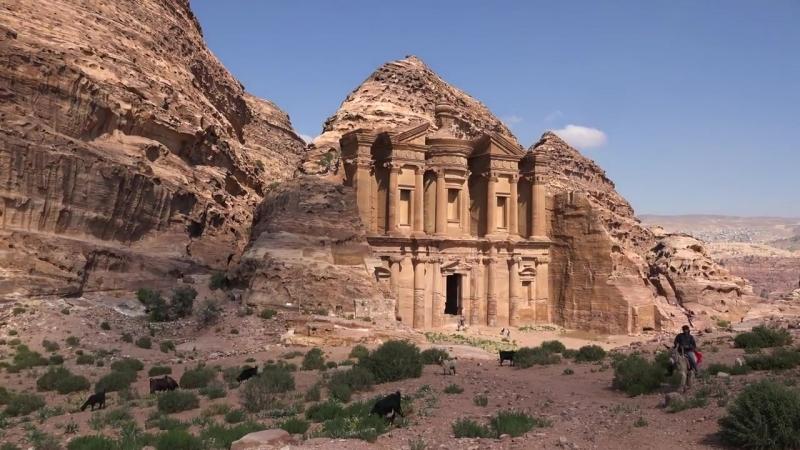 Петра, Иордания - видео экскурсия в HD c дрона (квадрокоптера)