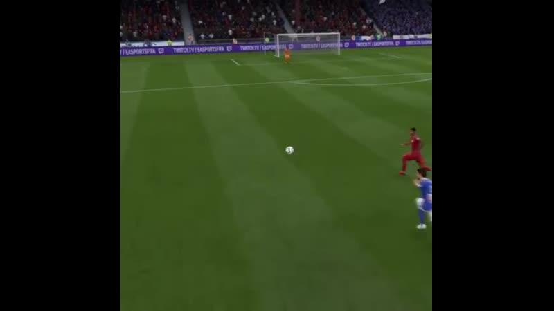 Шикарный гол Рашфорда в FIFA19