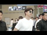25.06.2018, прибытие Гон Ю в Сеул, аэропорт Инчхон, после мероприятия Asus ZenFone 5 Photography Party 24.06.2018