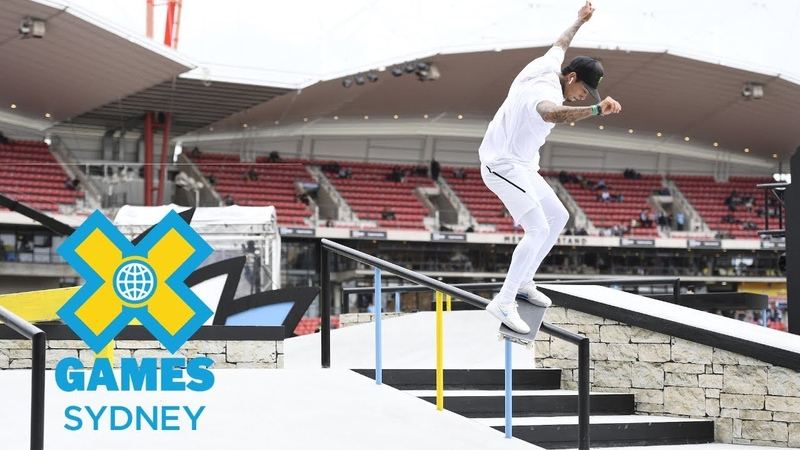 Nyjah Huston wins gold in Men's Skateboard Street | X Games Sydney 2018