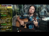 Дюна - Страна Лимония кантри кавер на гитаре live запись с прямого эфира