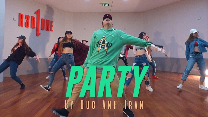 Chris Brown PARTY Choreography by Duc Anh Tran @ChrisBrown @DukiOfficial