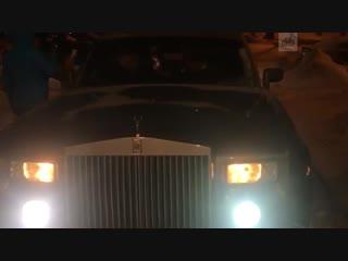 Кира Майер на Rolls-Royce