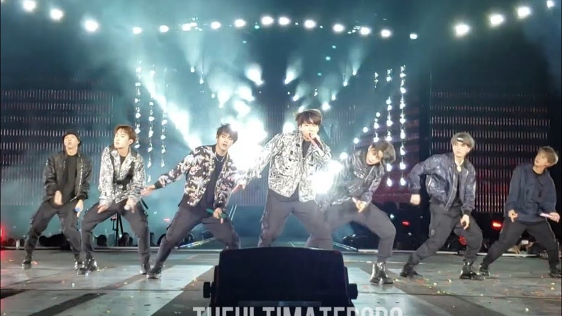 190504 Mic Drop Remix Dior outfits @ BTS 방탄소년단 Speak Yourself Tour in Rose Bowl Los Angeles Fancam