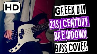 🎸 Green Day - 21st CENTURY BREAKDOWN [Bass Cover] HD