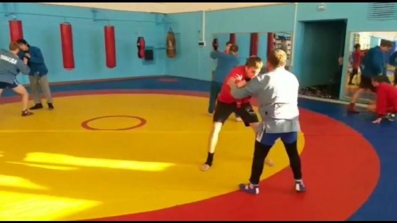 Совместная тренировка по самбо кудо