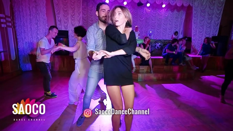 Pako Sanmartin and Anastasiya Larionova Salsa Dancing in Lendvorets at The Third Front, Fri 03.08.18