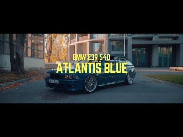 BMW 540i E39 Atlantis blue || 4k