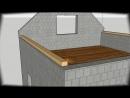 Строительство двускатной крыши - Проект « Дача »