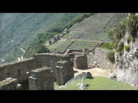 Lost City of the Incas~♫~ El Condor Pasa~♫~ Machu Picchu remix version Pan Flute Instrumental Peru