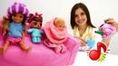 Видео для детей МиМиЛэнд. Куклы Барби и Лол.