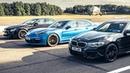 BMW M5 vs Mercedes-AMG E63 S vs Porsche Panamera Turbo S Drag Races Top Gear