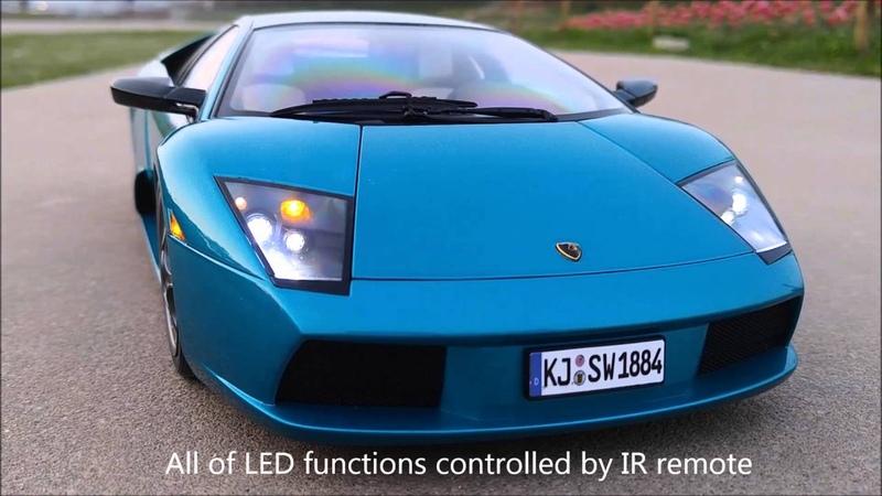 Autoart 112, Lamborghini Murceilago 40th Ann. (Ver 2.0) LED tuning by MBW