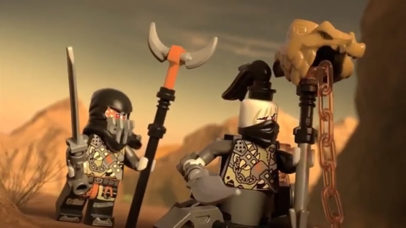 Lego Ninjago Season 9 Product Animations: 70652, 70653, 70654
